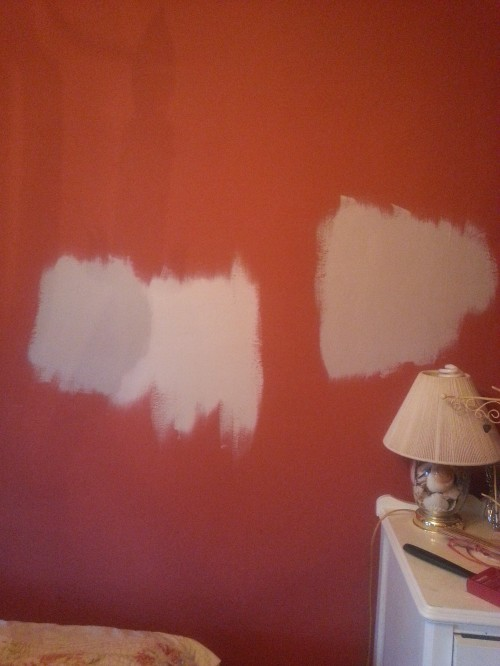 paint color on walls