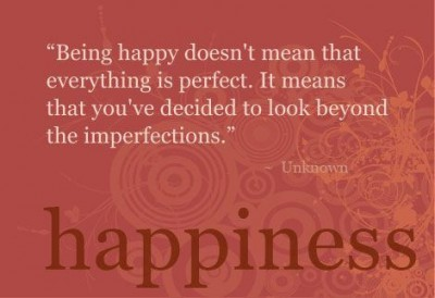 Finding Happiness During Times Of Major Change: Finding Happiness quote