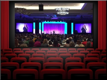 How to Customize Your Speech for your audience Kelly Swanson on stage