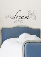 Gift Ideas for Dreamers: Dream wall decal