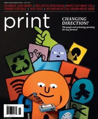 Print Magazine for graphic designers