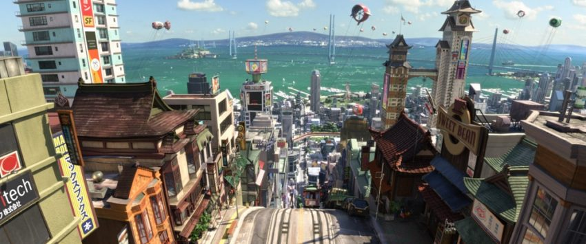 Adventures by Disney is 1 Way to Fill Your Travel Bucket List - Disney San Fransokyo Big Hero 6