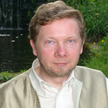 Eckhart Tolle Brings A New Earth and More Life Lessons- Eckhart Tolle
