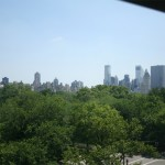 View from Museum down on Central Park