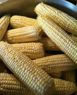 Culinary Dreams: Grilled Corn with Basil Butter