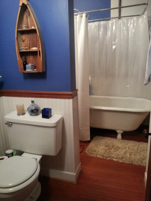 This old house: My one and only bathroom