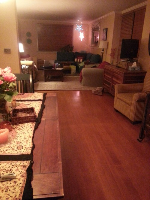 This old house: living room - view from dining room