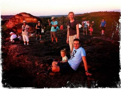 At Ubirr Lookout - Kakadu National Park, Australia