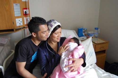 One Man's Dream of Fatherhood: The birth of our little girl