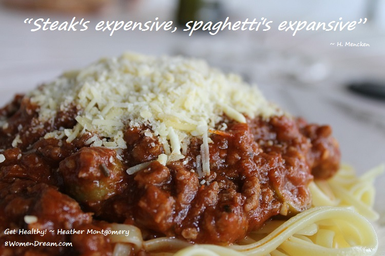 7 Healthy Alternatives to Pasta That Don't Suck - Steak is expensive & spaghetti is expansive quote