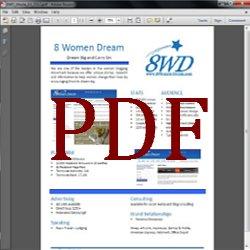 8 Women Dream Media Kit in pdf