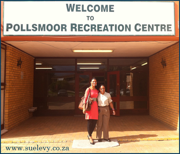 Motivational Speaker, Sue Levy Motivates women at Pollsmoor Prison