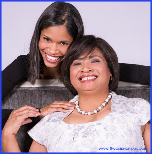 Dream Mission: Making Someone Else's Dream Come True - Pauline with her daughter