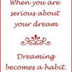 Dreamer or Delusionist: Make Sure You Go For Your Dreams