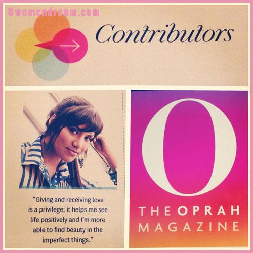 Oprah Magazine Contributor, Sue Levy