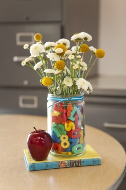 Flowers that are back to school ready