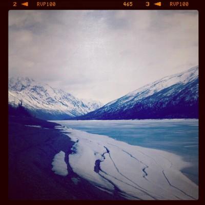Travel to Alaska: Eklutna Lake by Katie Eigel