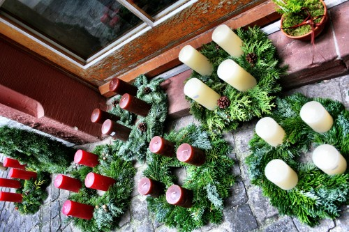 Holiday Travel Dreams: Top 8 Christmas Markets in Europe - Basel Old Town Christmas decorations in Switzerland