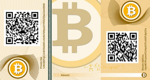 Travel Bitcoin to Fund Your Travel Dreams - Bitcoin Banknote by CASASCIUS