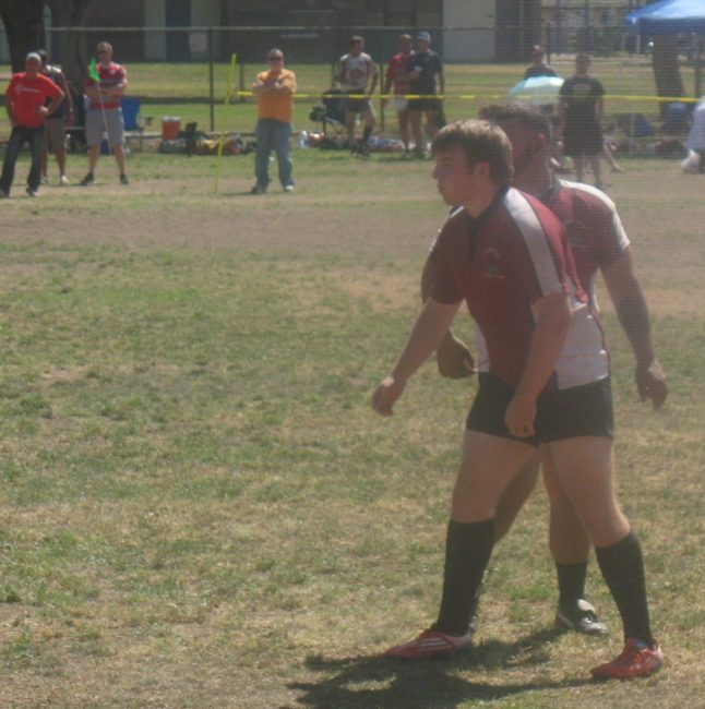 California Drought Interrupts Dream Progress: Brian doing is Rugby dream in Fresno