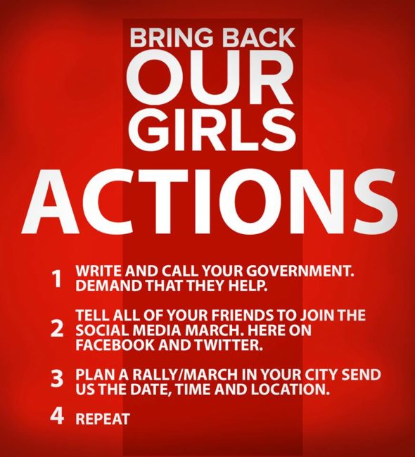 All We Want for Mother's Day: #BringBackOurGirls