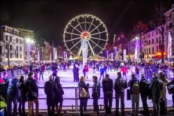 European winter travel dreams in Belgium