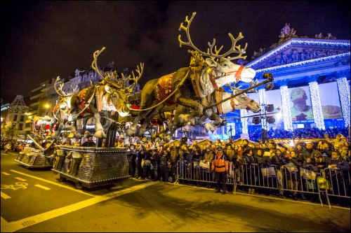 Brussels winter festival in Belgium
