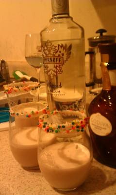 Cake Batter Martinis
