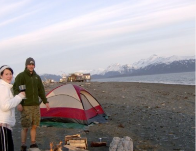 8 Best Quotes About Travel from a Travel Junkie: Camping-in-Homer-Alaska