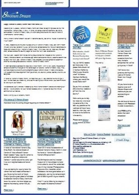 The 8 Women Dream email marketing newsletter