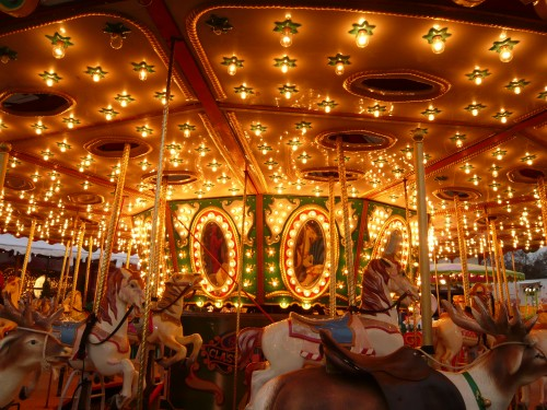 Holiday Travel Dreams: Top 8 Christmas Markets in Europe - Carousel in Grand Place in Brussels