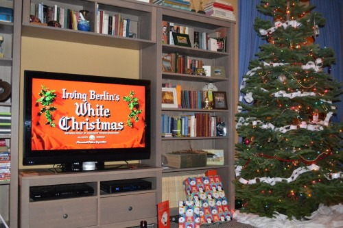 Christmas traditions with tree for a dreamy white christmas
