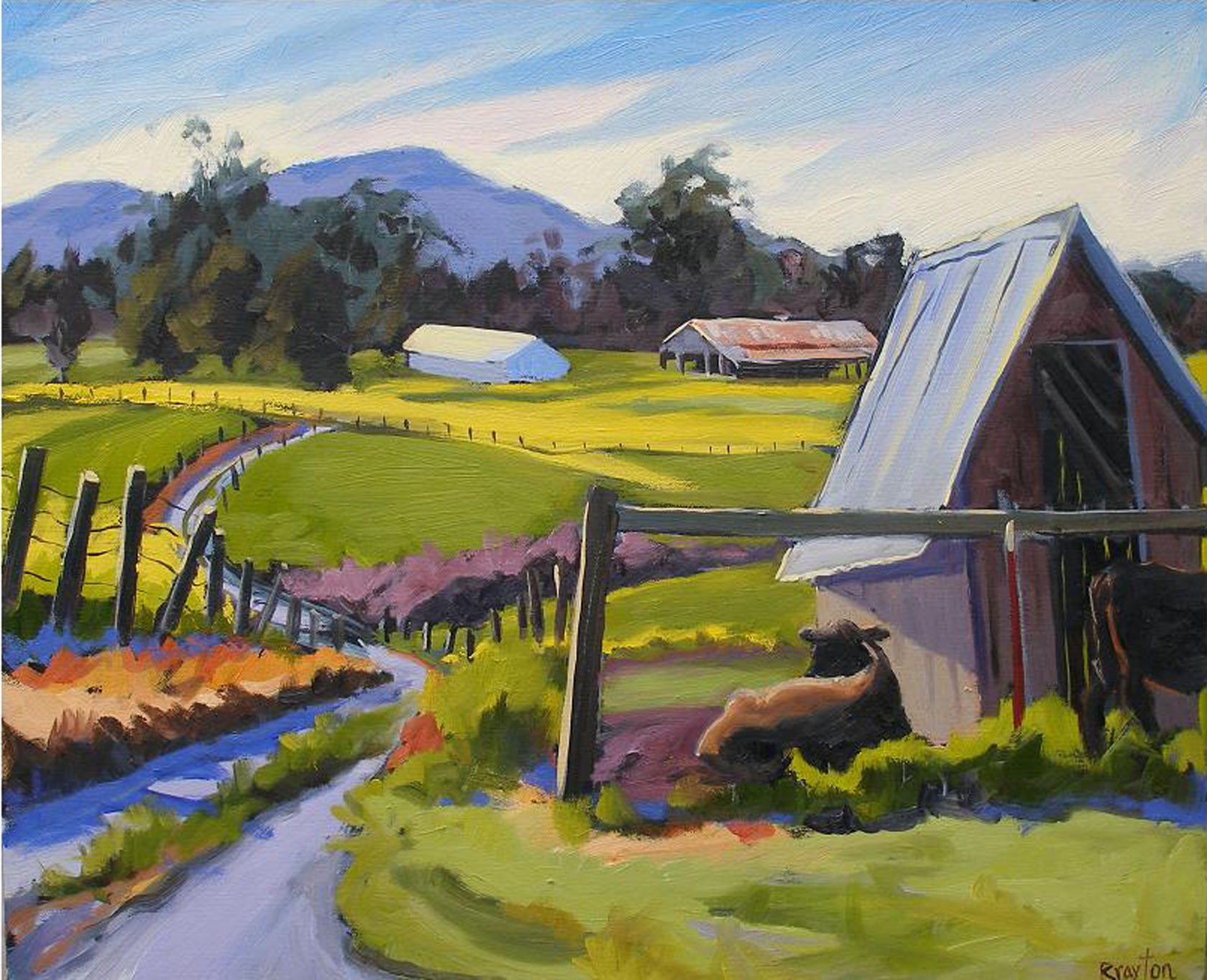 Cow's Paradise by Wendy Brayton