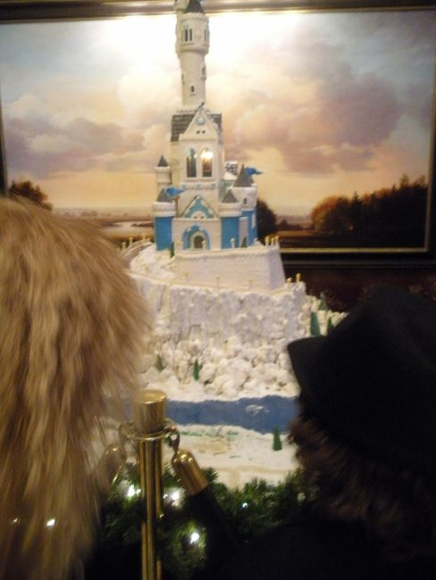Gingerbread House when the Country Mouse Visits the City for Christmas in the Northwest Wine Country