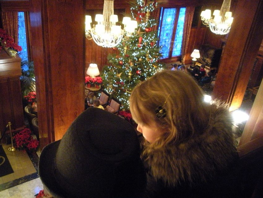 Mezz at The Benson when Country Mouse Visits the City for Christmas in the Northwest Wine Country