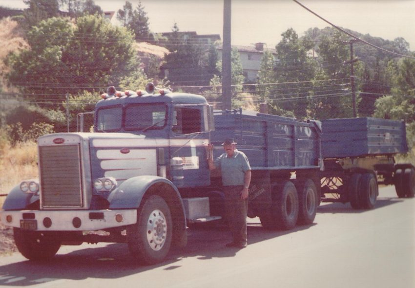 Why Half Assing It Means You Picked The Wrong Dream: My Dad with his truck