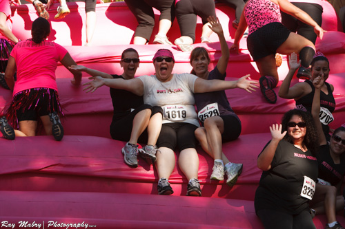 The first of many obstacles at Dirty Girl 2012