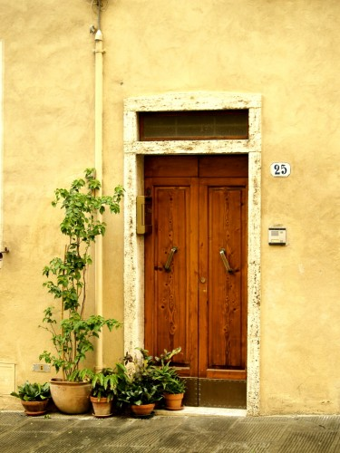 Italian Doorway photograph by Remy