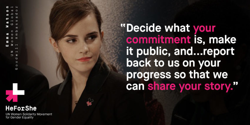 HeForShe Makes me Grateful for Women's Empowerment