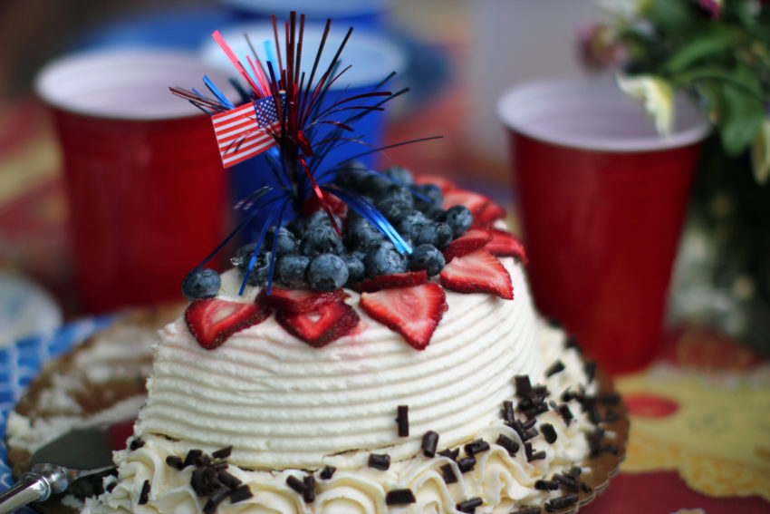 Free Kindle Books, Free Giveaways Make Your Blog Seem Like Birthdays: 4th of July cake