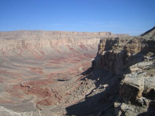 Havasupai Falls: A Grand Canyon Travel Dream: Trailhead view