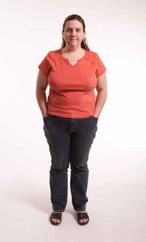 Body image - Health and Fitness Dreamer Heather before she lost 80 pounds