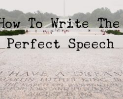 If You Know How To Speech Outline You'll Write a Great Speech