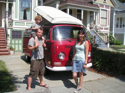 How to travel the world in a VW bus