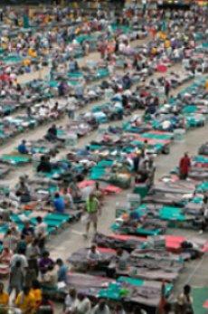 Hurricane Katrina survivors