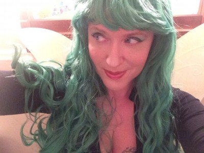 Finding Happiness In Playing Dress Up: It was easy being green