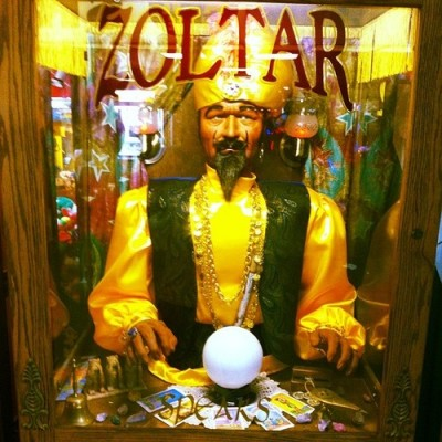 Make a Bucket List: Zoltar at Coney Island