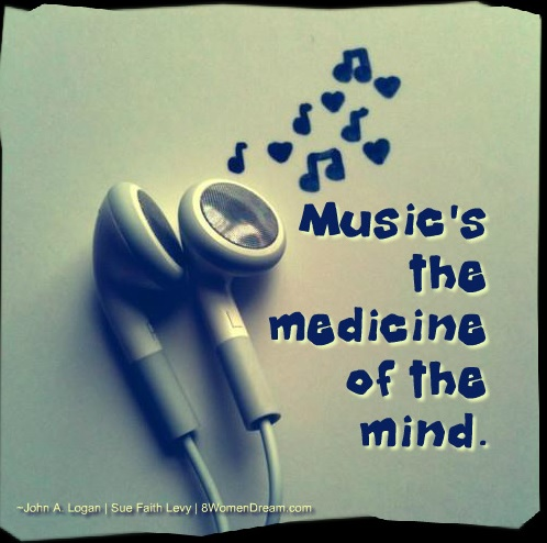 6 Inspirational Songs to Inspire You: Music is the Medicine of the Mind Quote
