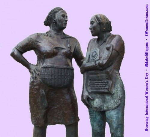 8 Women Memorials to Visit on International Women's Day: Womens Monument to the Unknown Woman Worker in Ireland.