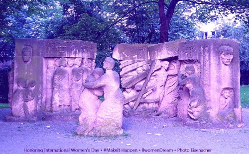 8 Women Memorials to Visit on International Women's Day: the Block of Women at Rosenstrasse